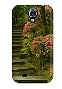 New Style 6616102K22647196 Awesome Case Cover Compatible With Galaxy S4 - Japanese Garden Washington Park