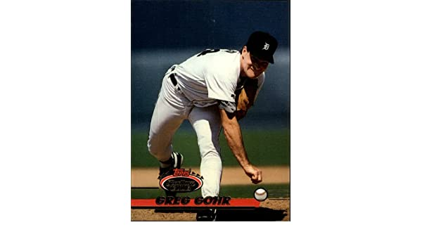 Amazon.com: 1993 Stadium Club Baseball Card #685 Greg Gohr Near Mint/Mint: Collectibles & Fine Art
