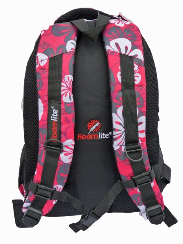 Cabin Skiing Daypack Boarding Litre and Print Roamlite for Compartments RL82P Flowers On Hand and Carry Rucksack Bags Snow Multiple Pink size Bag Luggage 30 Backpacks Pockets wCqH5Pnq