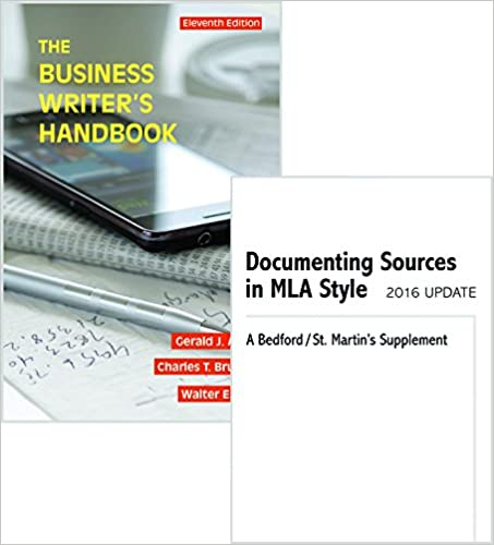 business writer's handbook 11th edition