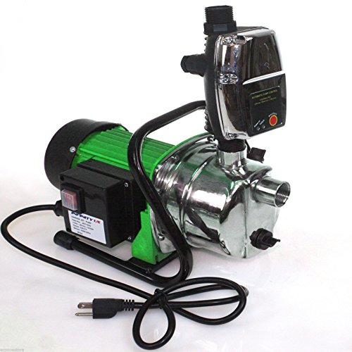Combo 1.6 HP 1200W Jet Shallow Water Well Booster Pump w/ Pressure Controller By Allgoodsdelight365 by allgoodsdelight365