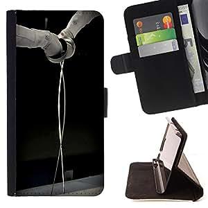 Dragon Case- Caja de la carpeta del caso en folio de cuero del tir¨®n de la cubierta protectora Shell FOR Sony Xperia Z2 L50t L50W L50U- Fencing