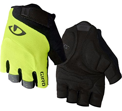 Giro Bravo Gel Cycling Gloves - Men's Highlight Yellow 2X-Large