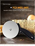Wall of Dragon Pop Space Round Pizza Cutter Stainless Steel With plastic Handle Pizza Knife Cutter Baking Tools