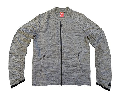 NIKE Sportswear Tech Fit Mens Jacket 832178 Jumper (Small, Grey Black 060) by NIKE
