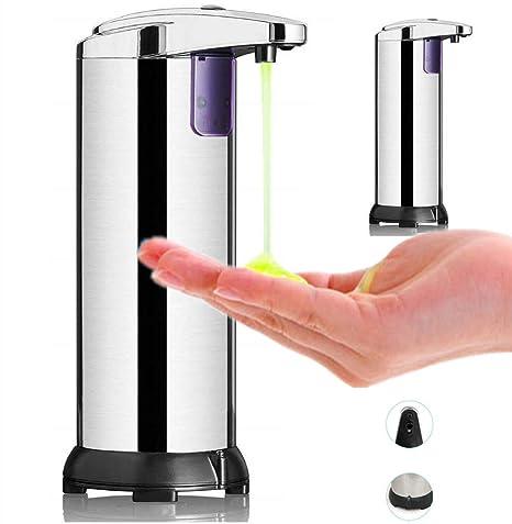 Infrarot-Bewegungssensor, Hanamichi Automatischer Seifenspender mit Edelstahl