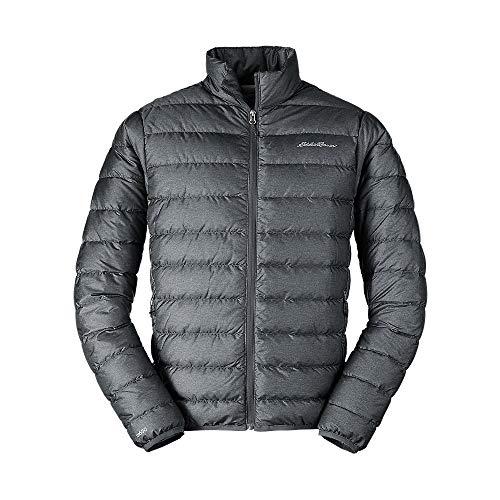Eddie Bauer Men's CirrusLite Down Jacket, Dk Smoke HTR Regular L (Large Down Jacket Men)