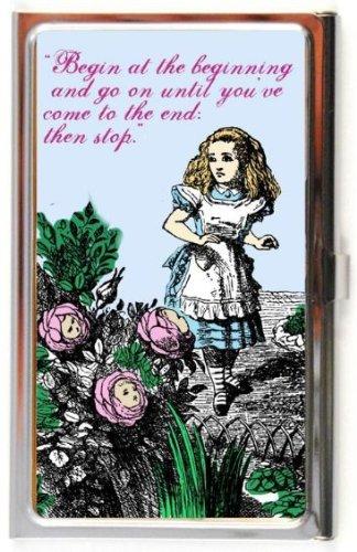 Alice In Wonderland Business Card Credit Case