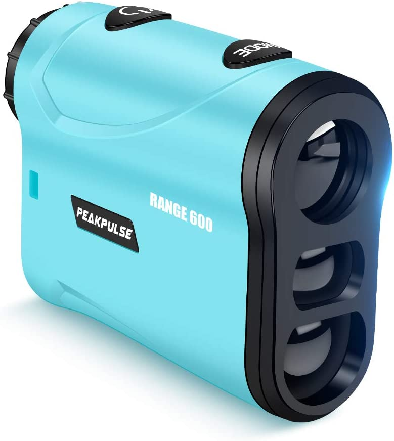 PEAKPULSE S600AG Golf Rangefinder with Slope Compensation Technology, Flag Acquisition Technology and Fast Focus System, Perfect for Choosing The Right Club. 550 Yard Range, 6X Magnification.