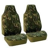 FH Group FB109DARK115 Dark Camo - Funda para Asiento de Coche (Compatible con airbag de Camuflaje y...