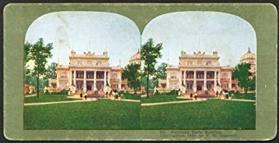 Kentucky Building St Louis World's Fair stereoview 1904
