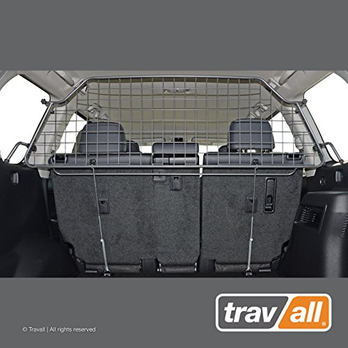 - Travall Guard Compatible with Toyota Land Cruiser (2009-Current) TDG1559 - Rattle-Free Steel Pet Barrier