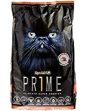 Ração Special Cat Prime para Gatos Adultos de Todas as Raças e Tamanhos sabor salmão e arroz