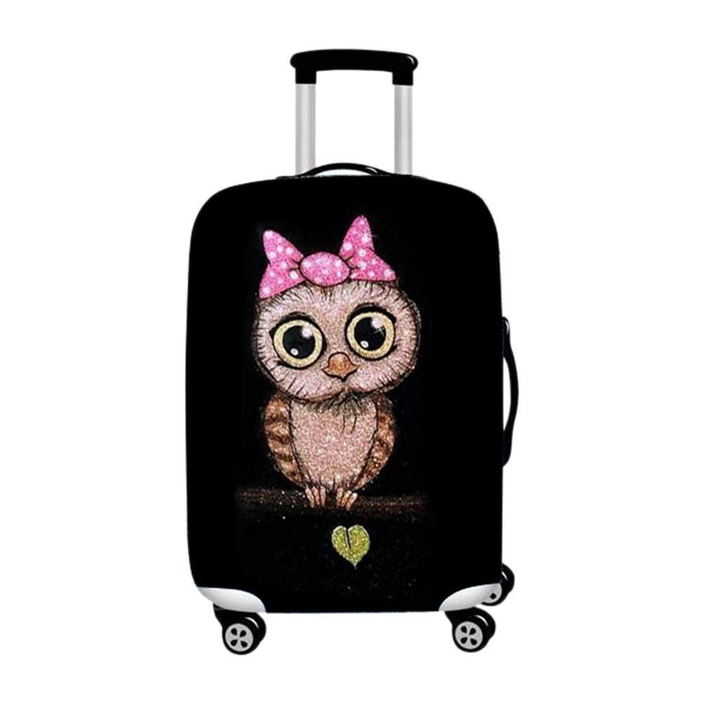 Amazon.com | Baggage Covers - Luggage Suitcase Trolley Case Travel Nighthawk Pattern Washable Protector fit 18