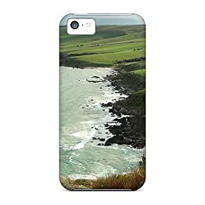 Durable Defender Case For Iphone 5c Tpu Cover(beautiful Coastline South Australia)