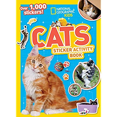 Cat Fan related Products National Geographic Kids Cats Sticker Activity Book (NG Sticker... [tag]