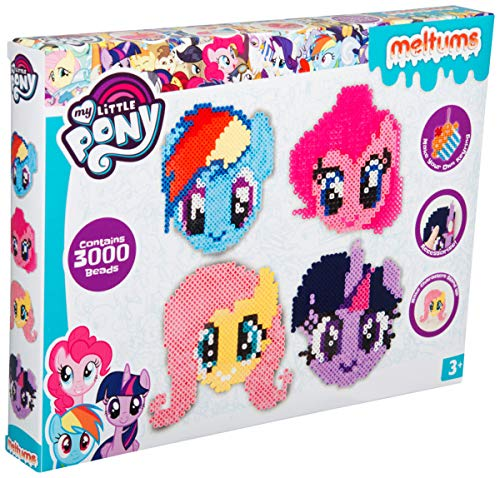 (Sambro My My Little Pony Meltumz 3000 Beads Kit, Arts and Crafts Activity for Kids, Multicolour)