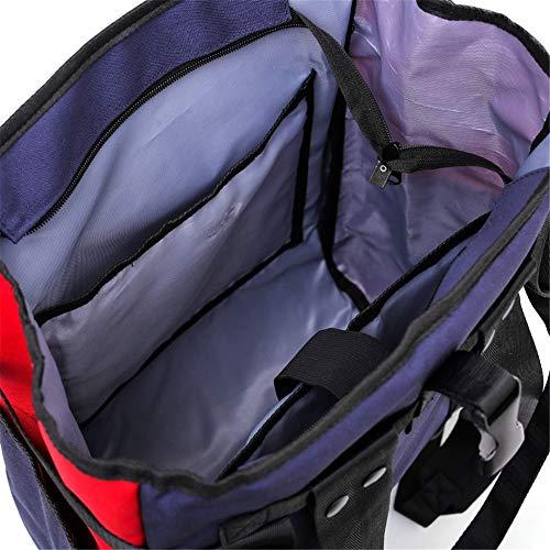 da Borsa di De da grande zaino Bolso viaggio tracolla violetto grigio viaggio Mano femminile a capacità TfqPPRE8w