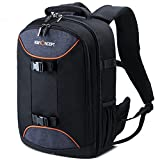 K&F Concept Professional Camera Bag 20L Large Capacity Backpack for DSLR Camera, 13.3'' Laptop, Lens, Tripod and Accessories with Rain Cover