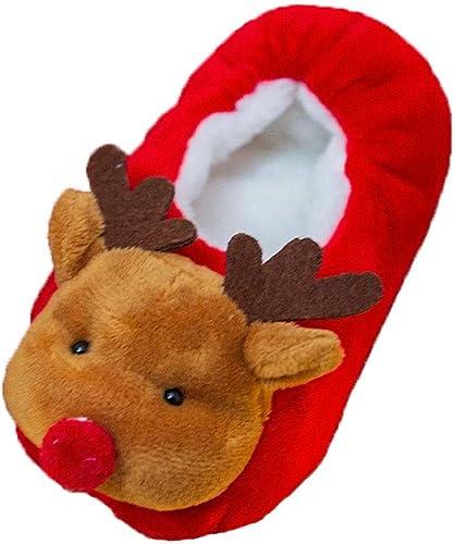 Anti-Slip Slipper Floor Socks YEAPOOK Cute Baby Christmas Shoes Toddler Girls Boys Winter Non-Slip Booties