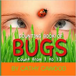 Book Counting Book of Bugs: Count from 1 - 13