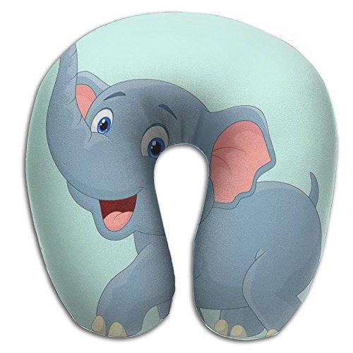 U Shape Neck Pillow U Type Travel Relax Pillow Soft Cervical Pillows Elephant Print (Chicago Medical Journal)