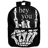 Hip Hop Unisex Full 3D Printed Width Zipper Kids' Backpacks