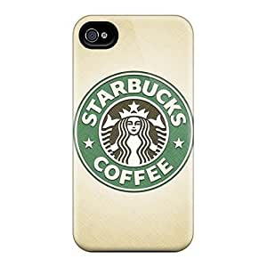 Rosesea Custom Personalized Fashionable JOC27364aFjs Case For Iphone 4/4S Coverplus Cases Covers For Starbucks Logo Protective Cases