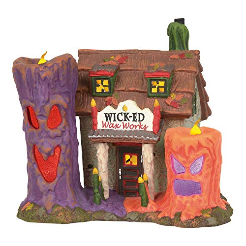 Department 56 Snow Village Halloween Wicked Wax -