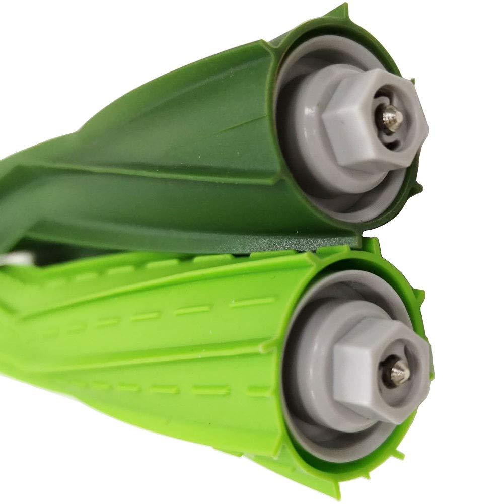 4 filtri, 6 spazzole laterali, 1 set spazzole in gomma Parti di ricambio per iRobot Roomba i7 i7Plus e5 e6 e7 aspirapolvere Rifornimento