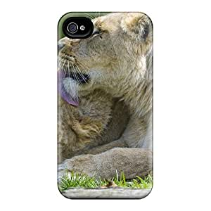 New Style LauraKrasowski Hard Cases Covers For Iphone 6- Lions In Love