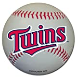Minnesota Twins Baseball Shaped Magnet Large MLB Team for Refrigerator Locker