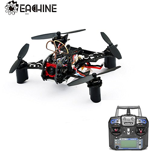 Eachine BAT QX105 105mm Micro FPV LED Racing Quadcopter w/ AIOF3 OSD Eachine i6 Transmitter RTF