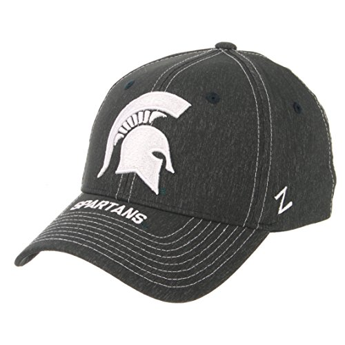 - Zephyr NCAA Michigan State Spartans Men's Center Court Z-Fit Cap, X-Large, Forest Green