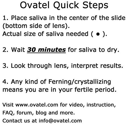 Ovatel Ovulation Monitor - Simple and Accurate Way to Pinpoint Ovulation with Unlimited Tests and a Free Smartphone App