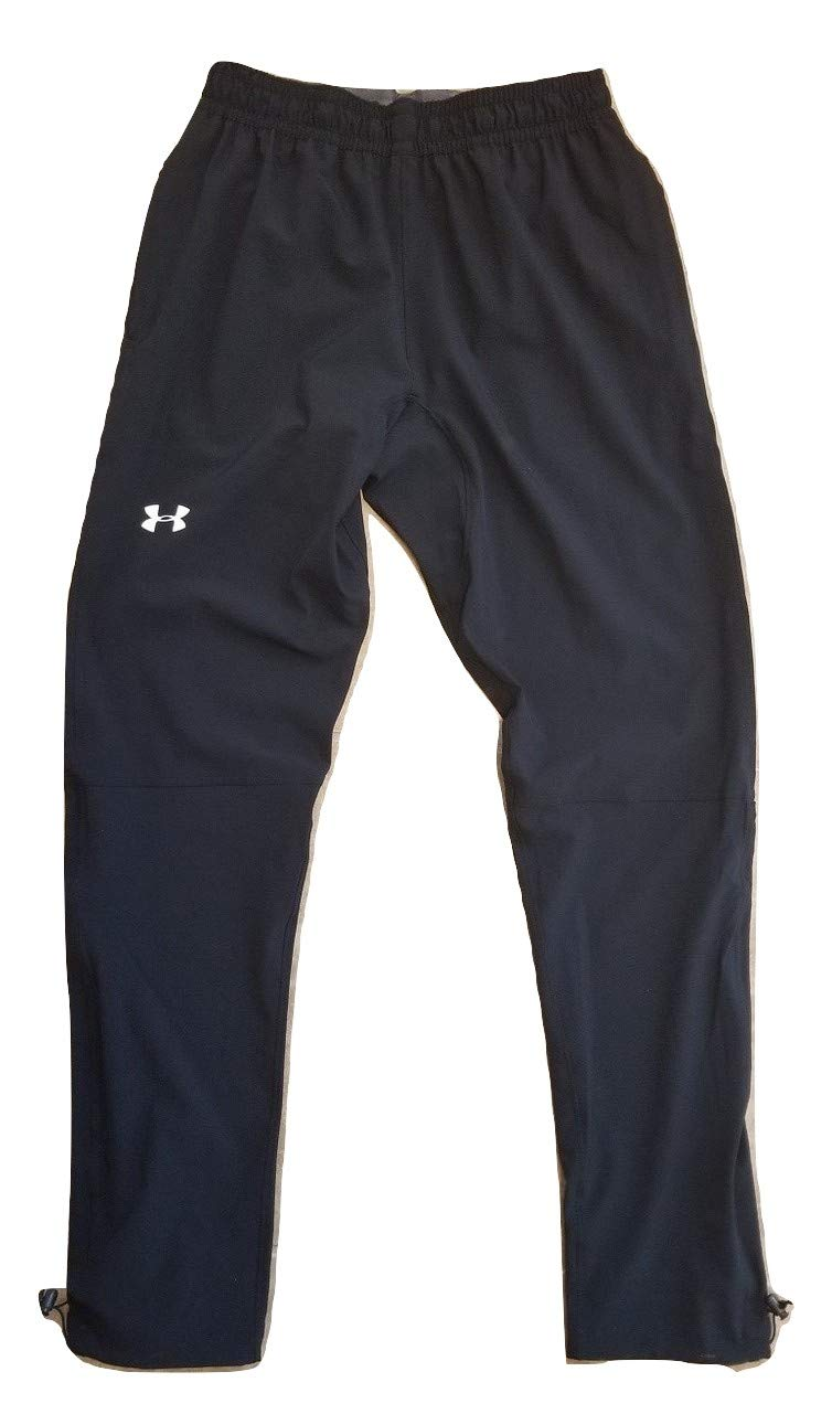 Under Armour Mens ArmourVent Storm Run Pant, Black, Medium