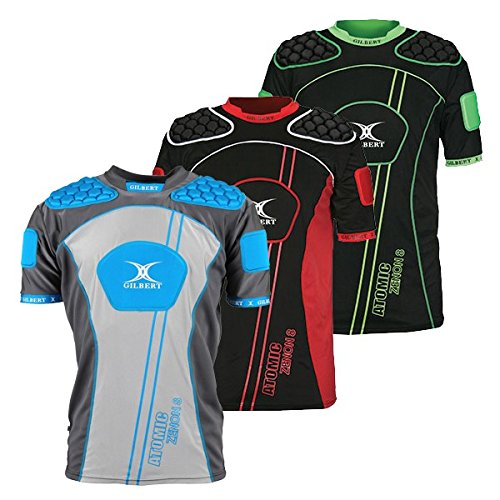 Gilbert Rugby Shirts - Gilbert Atomic Zenon Body Armour - Blue (Large)