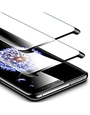 ESR Screen Protector for Samsung Galaxy S9 [2 Pack], Tempered Glass Screen Protector [Force Resistant Up to 11 Pounds] [Case Friendly] for Samsung Galaxy S9 2018 released