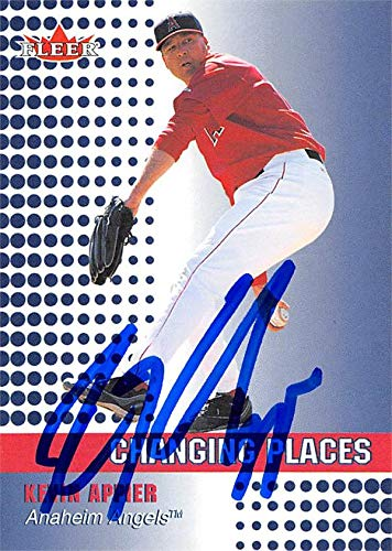 Kevin Appier autographed baseball card (Anaheim Angels, SC) 2002 Fleer Changing Places #468