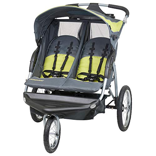 (Baby Trend Expedition Double Jogger Stroller, Carbon)