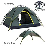 Cheap Makino 2 Person Outdoor Instant Tent with Rainfly, Army Green