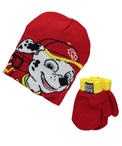Paw Patrol Firehouse Beanie Mittens product image