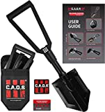 CAOS Survival Shovel for Camping - Heavy-Duty