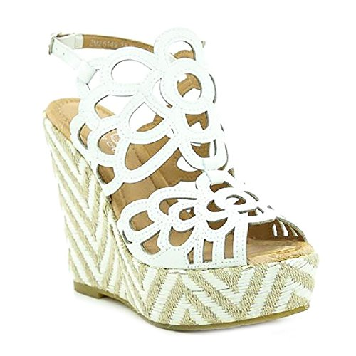 Bianco pour Mules Toocool Toocool Mules Femme wYvBv