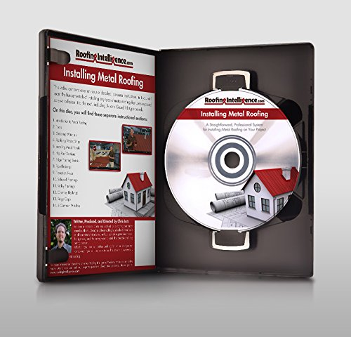 - How to Install Metal Roofing DVD
