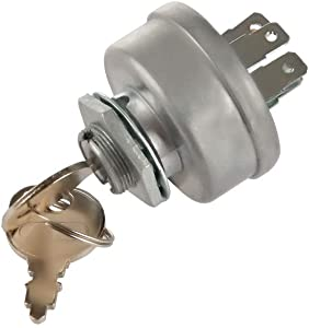 LARBI STD365402 24688 725-0267 925-0267 21064 42106 Craftsman Riding Lawn Tractor Mower Ignition Starter Switch With 3 Position 5 Termials 2 Keys For MTD Craftsman,John Deere,Toro,Snapper,Scag