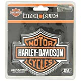 PlastiColor 2216 Harley-Davidson Full-Color Aluminum Hitch Plug