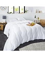 Sweetnight - Couette Hiver 400g/m²   220x240cm   Chaude et Enveloppante   Anti Acariens   Gonflante Ultra Confort   Lavable