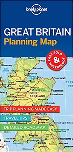 Great Britain Planning Map Travel Guide Lonely Planet - Map of great britain