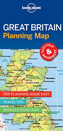 Great Britain Planning Map (Travel Guide)